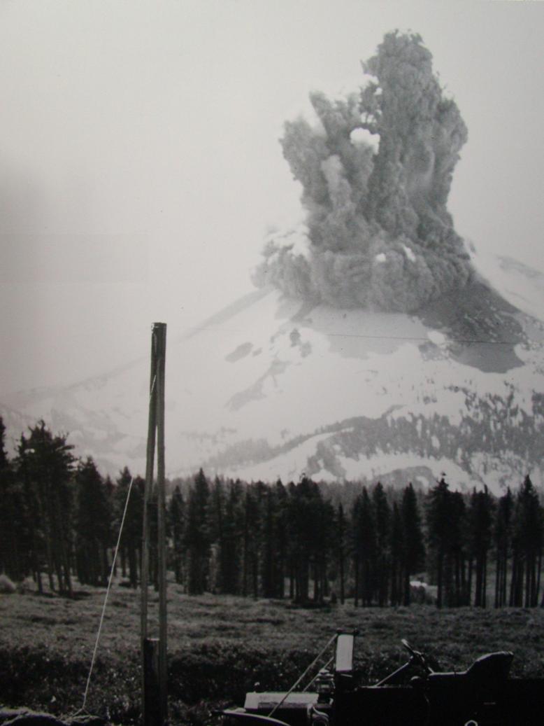 Monte St Helens lava datazione