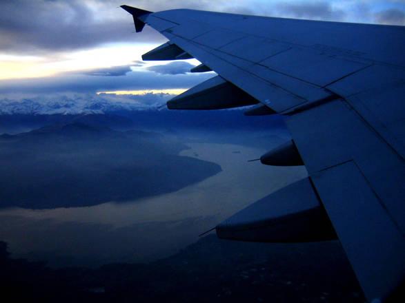 Napoli 6 Settembre 2005: Sciopero aerei  (Foto Cesare Abbate)