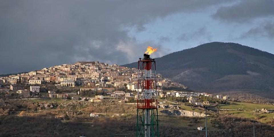 Estrazione del petrolio in Basilicata - inquinamento
