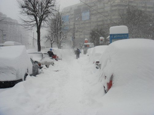 snow-bucharest
