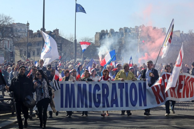 France Immigration Protest