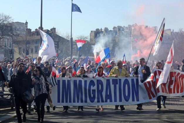 France Immigration Protest