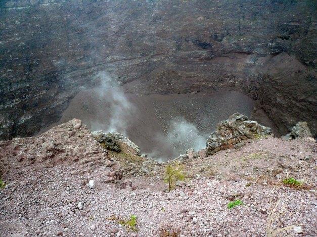 Vesuvio.interno.Cratere