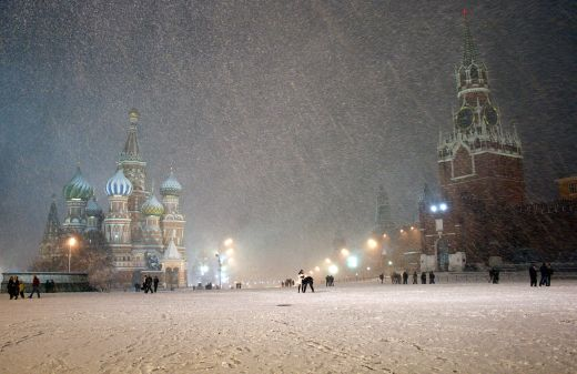 Red Square, Spasskaya tower of the Kreml